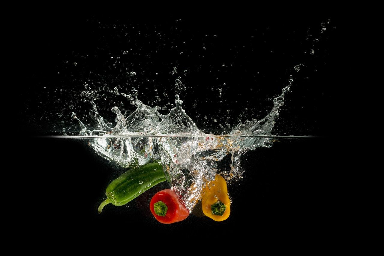 cuci sayuran