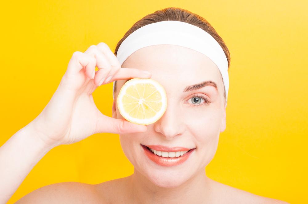 lemon masker wajah