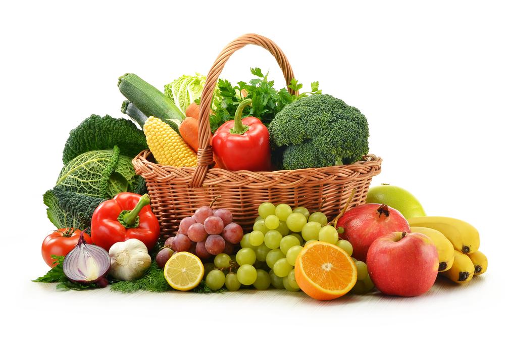 sayuran dan buah
