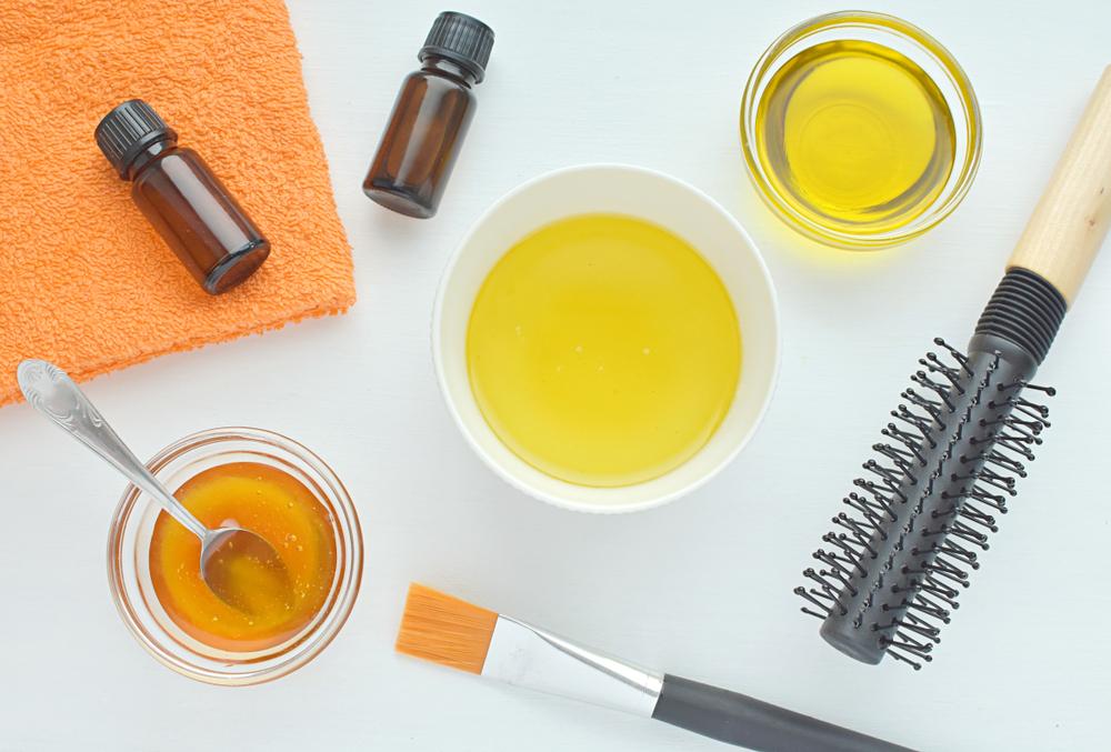 perawatan rambut dengan minyak zaitun